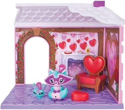 Игровой набор из игры Дикий мир -Animal Jam - Friendship Cottage Den & Fairy Cutepeach Exclusive