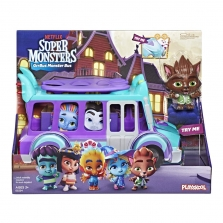Музыкальный автобус GrrBus Супер монстры Super Monsters
