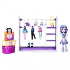 Off The Hook Style Studio, Fashion Fun Playset with 4-inch Small Doll and Fashions and Accessories