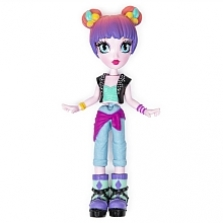 Off The Hook Style Doll, Alexis (Concert), 4-inch Small Doll with Mix and Match Fashions