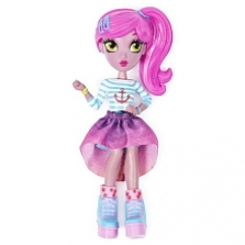 Off The Hook Style Doll, Vivian (Summer Vacay), 4-inch Small Doll with Mix and Match Fashions