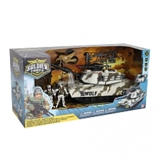 Soldier Force Tundra Patrol Tank Playset