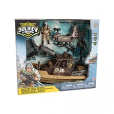 Soldier Force Coastline Patrol Playset