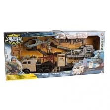 Soldier Force Rocket Launcher Vehicle Set