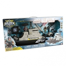 Soldier Force Hurricane Battleship Playset