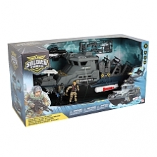 Soldier Force Navy Battleship Playset