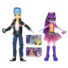 Flash Sentry and Twilight Sparkle Equestria Girls Friendship Games 2-pack -   Флэш Сентри и Твайлайт Спаркл